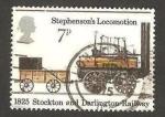 Stamps : Europe : United_Kingdom :  760 - 150 anivº del primer ferrocarril público a vapor