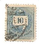 Stamps : Europe : Hungary :  correo terrestre