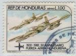 Stamps of the world : Honduras :  Fuerza Aérea Hondureña
