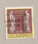 Sellos de Europa - Portugal -  Código civil