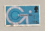 Stamps United Kingdom -  Giro nacional