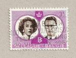 Sellos de Europa - Bélgica -  Reyes Balduino y Fabiola