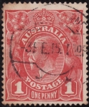Stamps Oceania - Australia -  Jorge V