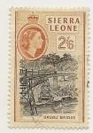 Stamps Africa - Sierra Leone -  Orugu Bridge