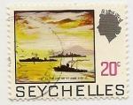 Stamps Africa - Seychelles -  Buques de Gerra