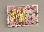Sellos de Europa - Holanda -  Espigas de trigo