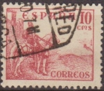 Sellos de Europa - España -  ESPAÑA 1940 917 Sello Rodrigo Diaz de Vivar El Cid 10c usado Spain Espagne Spagna Spanje Spanien