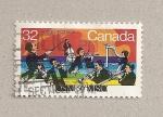 Sellos de America - Canadá -  Orquesta