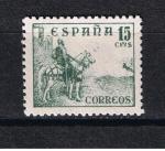 Sellos del Mundo : Europa : España : Edifil  1046  Cid y General Franco