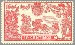 Stamps Europe - Spain -  ESPAÑA 1905 258 Sello Nuevo III Centenario de la publicacion de