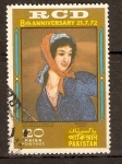 Stamps Pakistan -  MUJER   PERSA