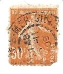 Sellos del Mundo : Europa : Francia : correo terrestre