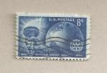 Stamps United States -  50 aniv Servicio ante todo