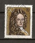 Sellos del Mundo : Europa : Alemania : Tema Europa / Gottfried Wilhelm Leibniz