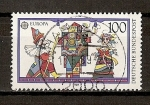 Stamps Germany -  Tema Europa / Juegos de niños