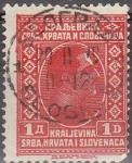 Sellos del Mundo : Europa : Yugoslavia : YUGOSLAVIA 1926 Scott 43 Sello Rey ALEXANDER Kraljevina Srba, Hrvata i Slovenaca