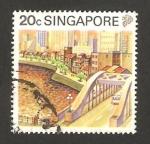 Stamps : Asia : Singapore :  rió Singapur