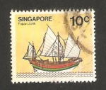 Stamps : Asia : Singapore :  Junco fujian