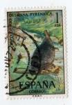 Stamps : Europe : Spain :  Fauna. Topo de rio
