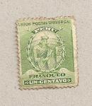 Stamps Peru -  Nativo
