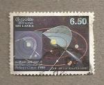Stamps Asia - Sri Lanka -  Cometa Halleys