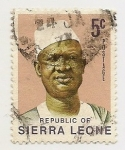 Stamps Africa - Sierra Leone -  Definitives Stevens