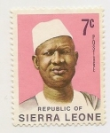 Stamps Africa - Sierra Leone -  Definitives, Stevens