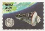 Stamps Sierra Leone -  1° Cápsula alrededor de la tierra