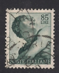 Sellos de Europa - Italia -  Pinturas de Miguel Angel, Jonas.