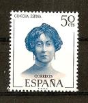 Stamps Spain -  Literatos Españoles