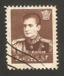 Stamps : Asia : Iran :  Mohammed Riza Pahlavi