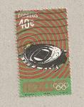 Sellos de America - México -  Olumpiadas 1968;Estadio