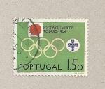 Stamps Portugal -  Juegos Limpicos Tokio 1964