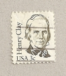 Stamps United States -  Henry Clay