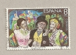 Stamps Spain -  La verbena de la Paloma