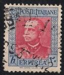 Stamps Africa - Eritrea -  Víctor Manuel III de Italia.(COLONIA ITALIANA)