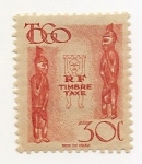 Stamps Africa - Togo -  R F Timbre Taxe