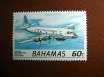 Stamps Bahamas -  Avion de reconocimiento
