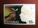 Sellos del Mundo : America : Bahamas : Conferencia Internacional de la Nutricion