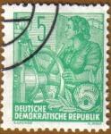 Stamps Germany -  Mujer Marinera
