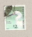 Stamps Hong Kong -  Pequeña garceta