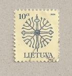 Sellos de Europa - Lituania -  Filigrana
