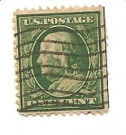 Stamps United States -  correo terrestre