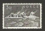 Sellos del Mundo : Europa : Noruega : isla traena en el litoral del norte