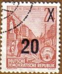 Stamps Germany -  Stalin Bulevar