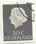 Stamps Europe - Netherlands -  Nederland 20c 1965