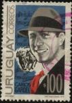 Stamps Uruguay -  Carlos Gardel