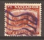 Stamps El Salvador -  CRISTÓBAL   COLÓN