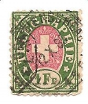 Stamps Switzerland -  telegraphie