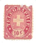 Stamps Switzerland -  telegraphie
